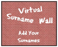 Add names to the virtural surname wall